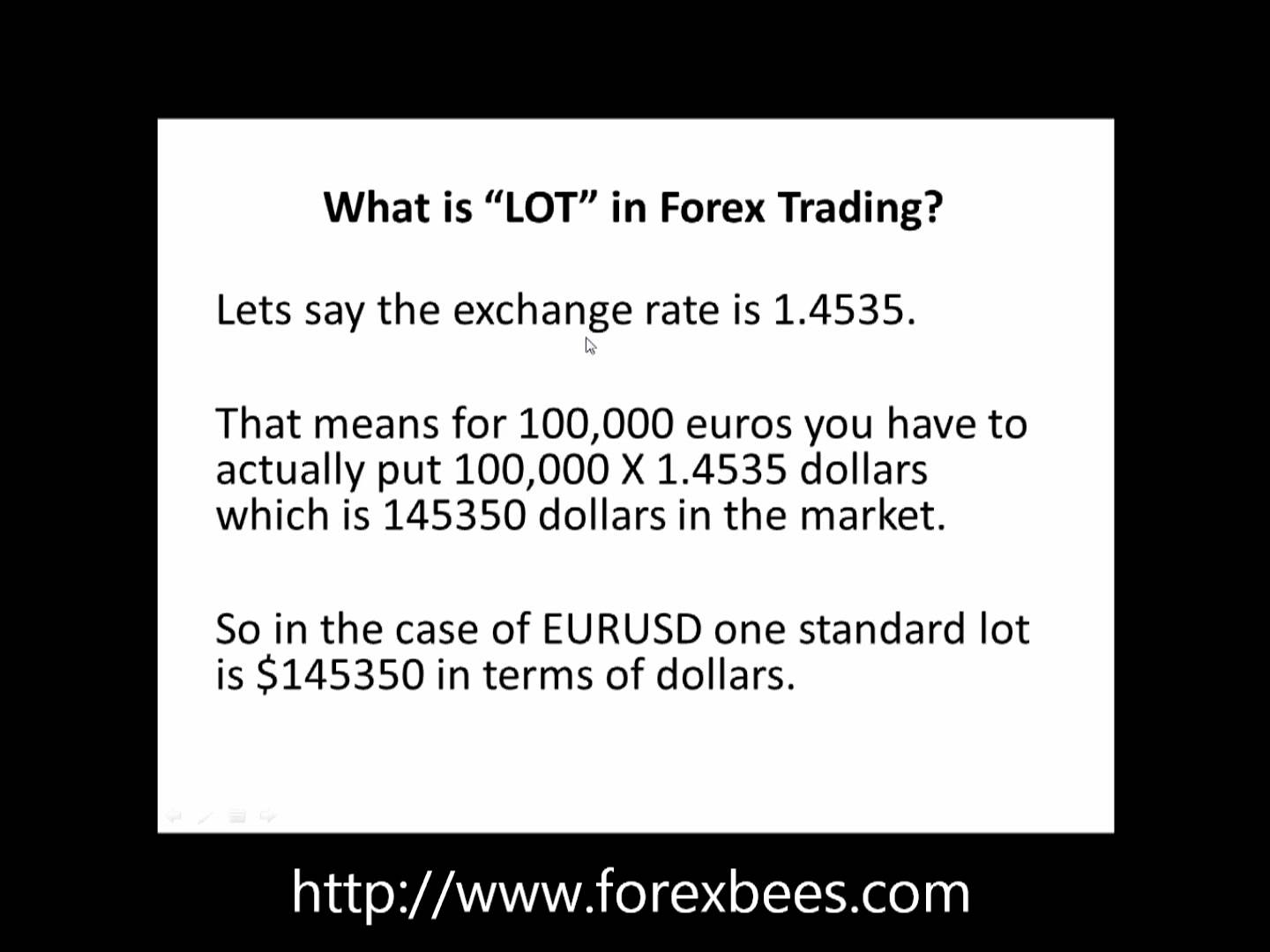 Forex Lots Explained