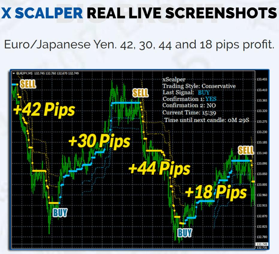 XScalper Robot screenshots