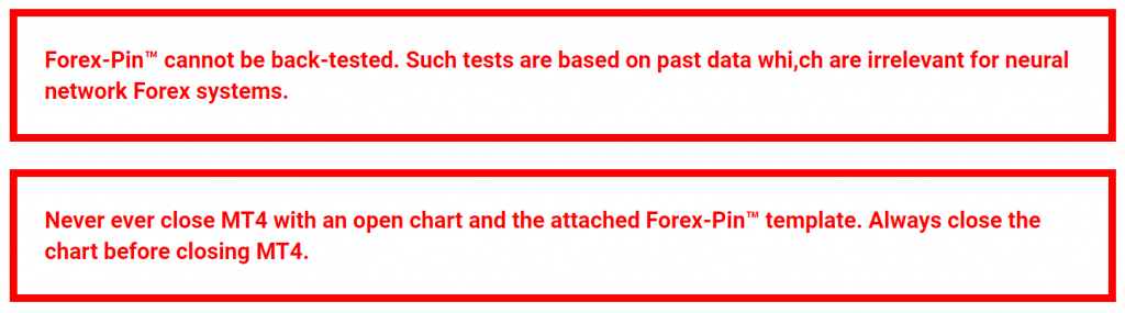 Forex Pin Robot Backtests
