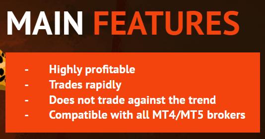 FX Rapid EA main features