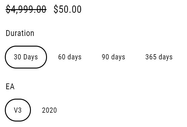 Forex Blade LLC price