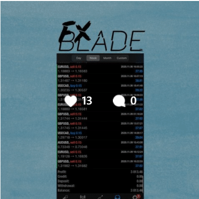 Forex Blade LLC on social networks