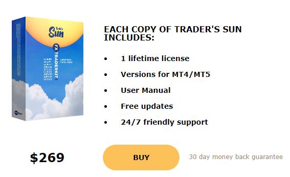 Trader's Sun price