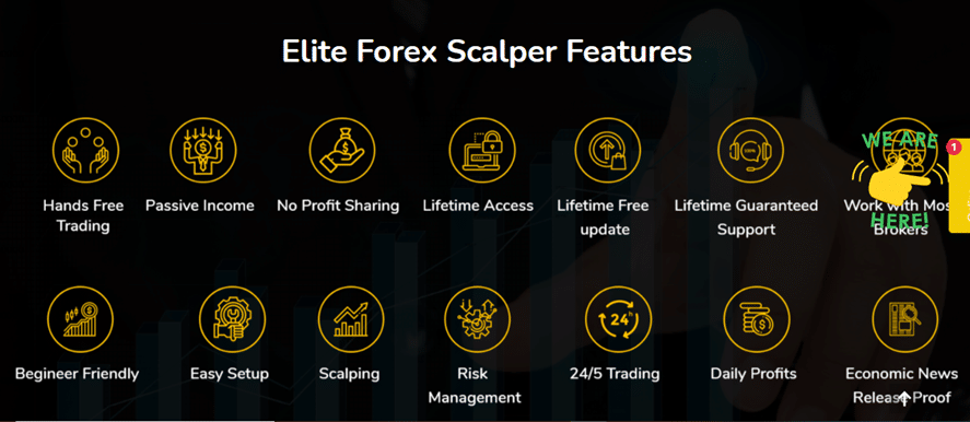 Elite Forex Scalper features