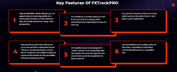FX Track Pro features