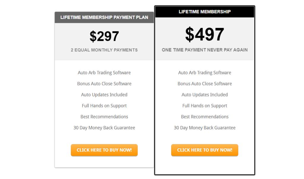 AutoArb price