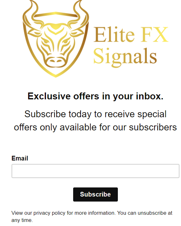 Elite FX Signals subscribe