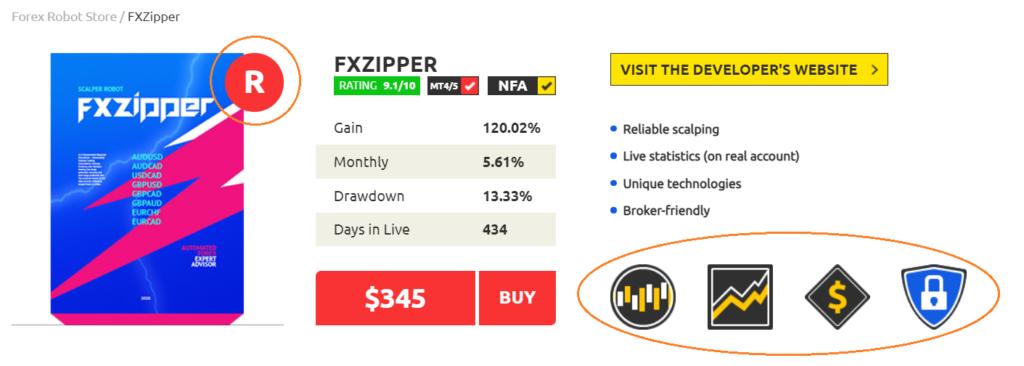 FXZipper price