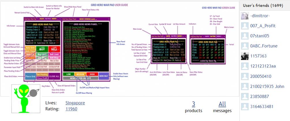 Grid Hero - developer portfolio