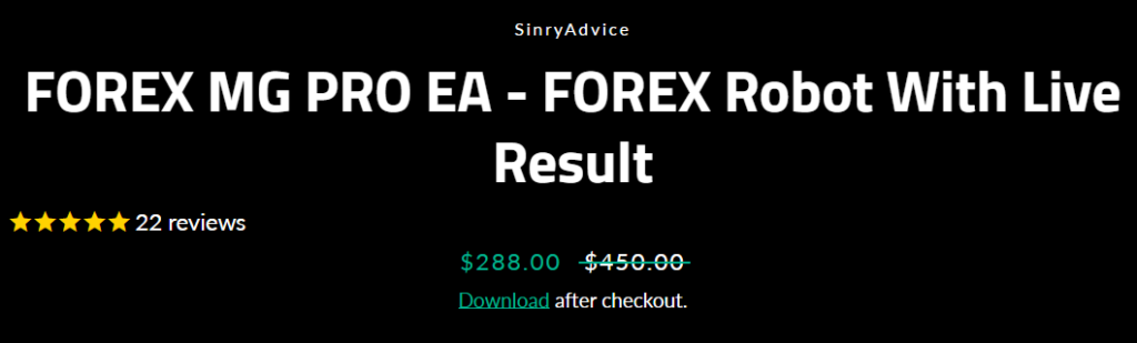 MG Pro EA price