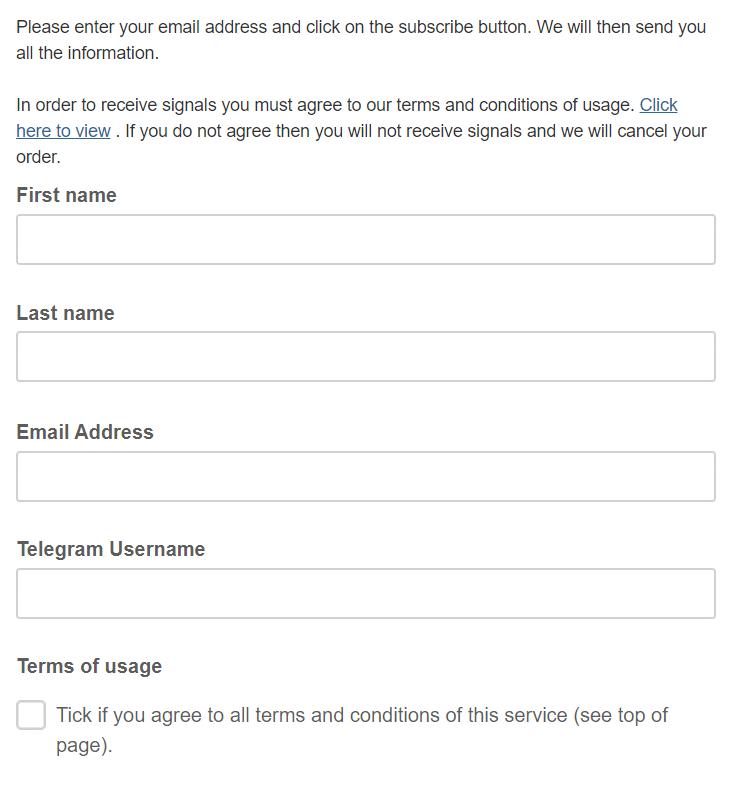 1000pipBuilder - registration form