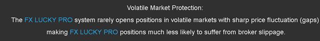 FX LUCKY PRO - volatile market protection