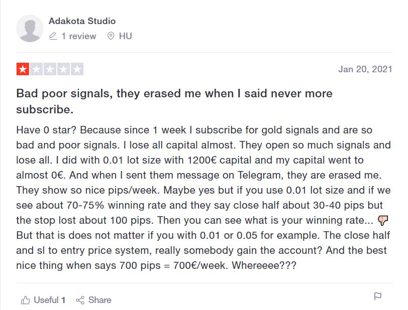 FX Premiere customer reviews