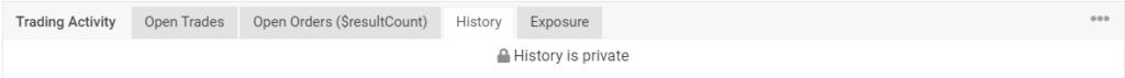 R Factor EA trading history