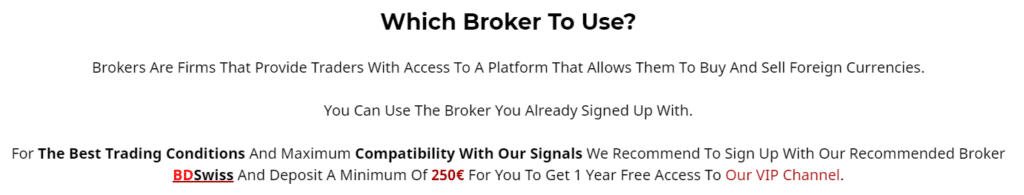 V12 Trading. Which broker to use