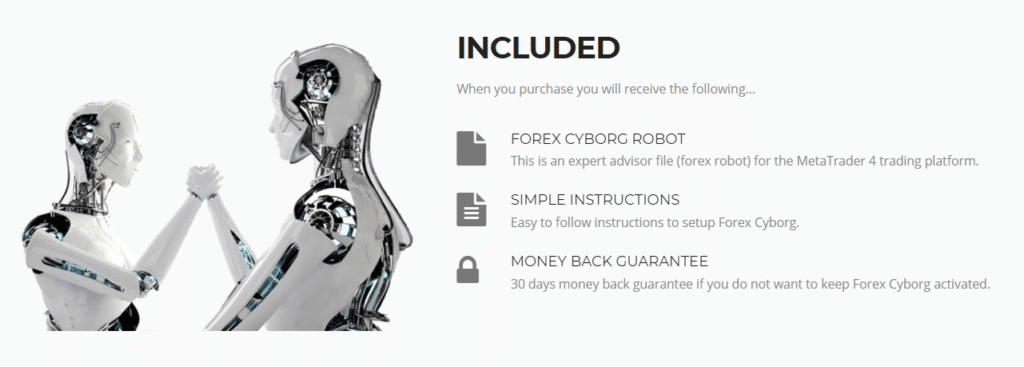 Forex Cyborg included