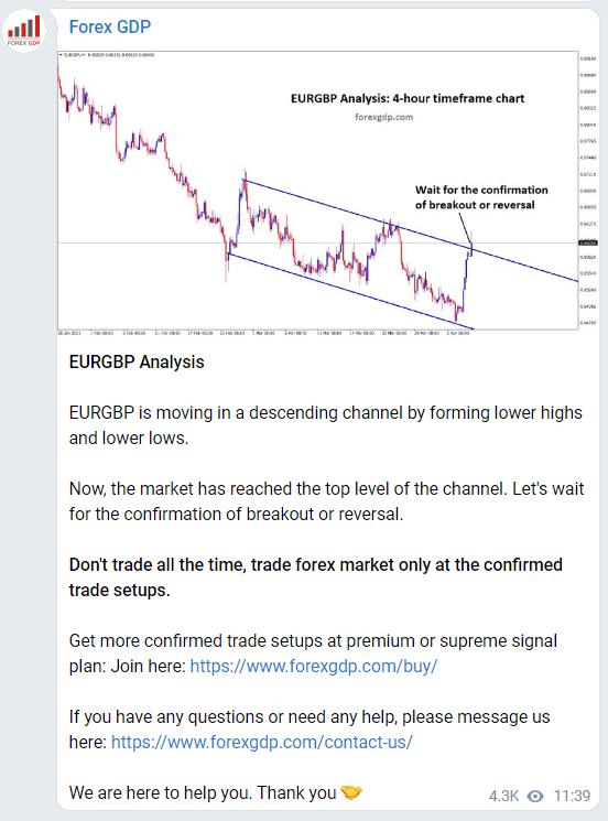 Forex GDP - Telegram channel