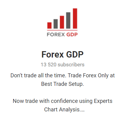 Forex GDP. There are 14,520 subscribers in the free channel.