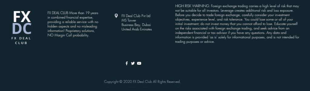 FXDC Hedger EA presentation