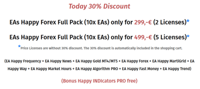 Happy Trend - discount