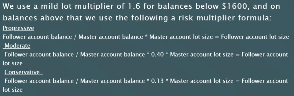 Growex - balances