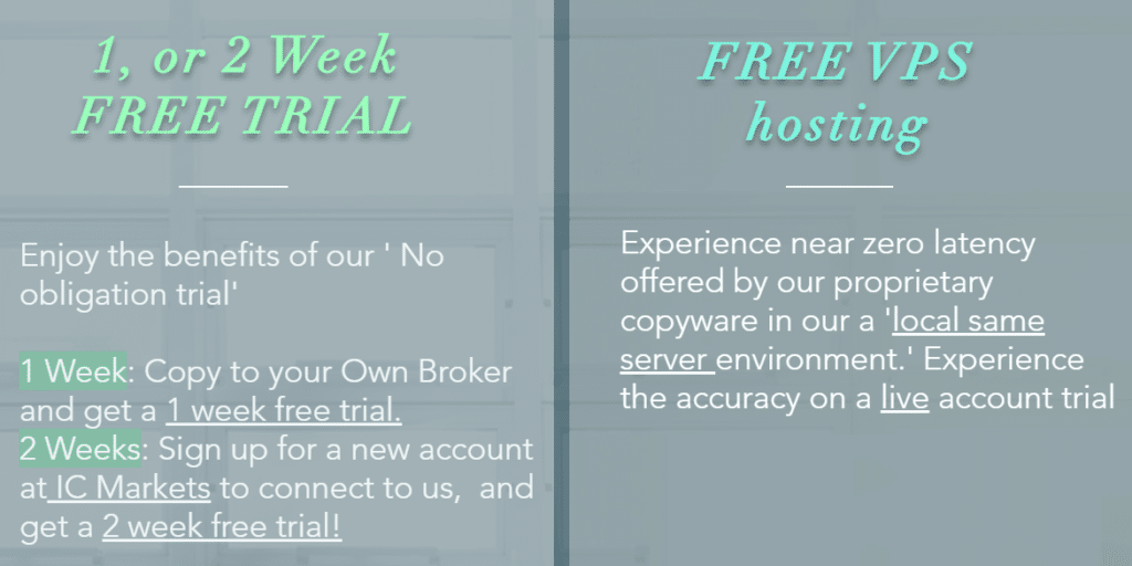 Growex. We can get a free one or two weeks trial if we register on ICMarkets using their referral link