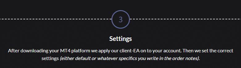 Ohlsen Trading settings