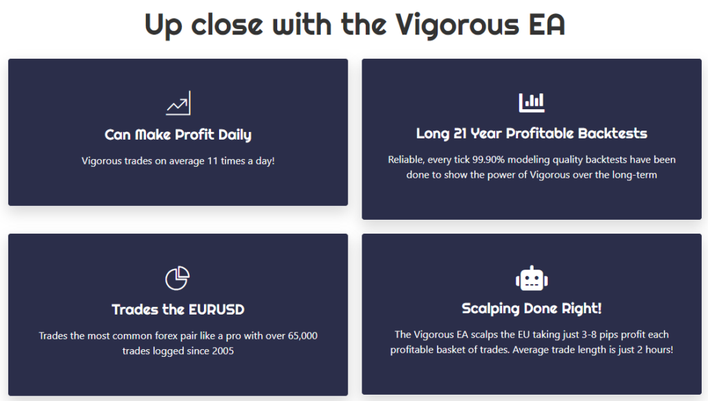 Vigorous EA Features