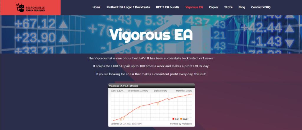 Vigorous EA presentation