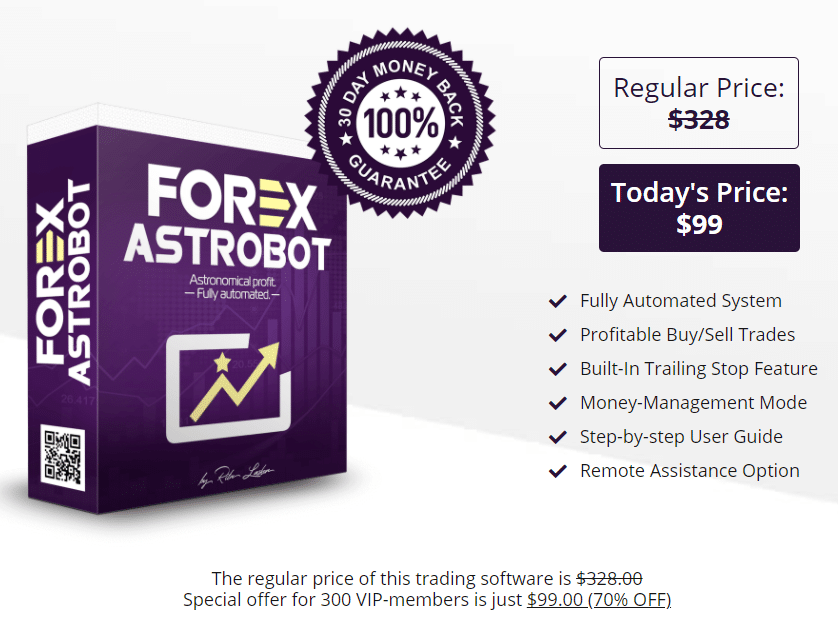 Forex Astrobot pricing