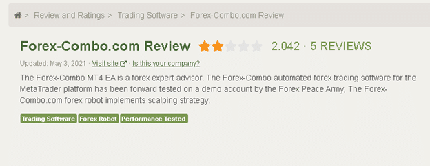 Forex Combo System People Feedback