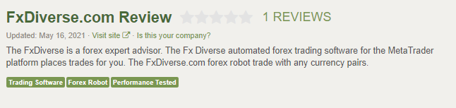 FxDiverse People Feedback