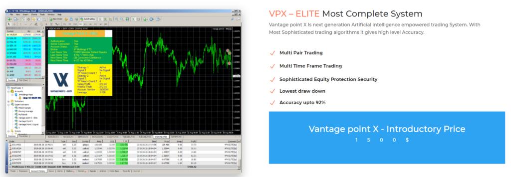 Vantage Point X price