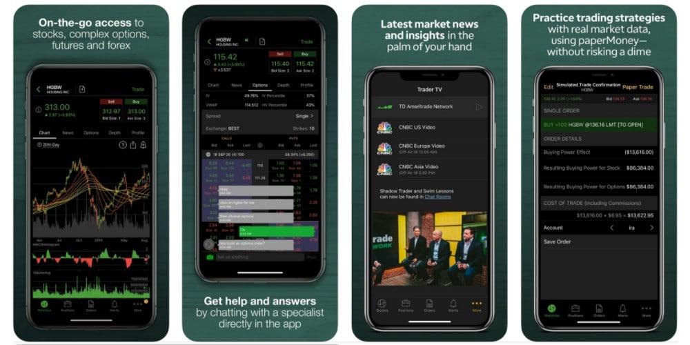 thinkorswim forex trading app
